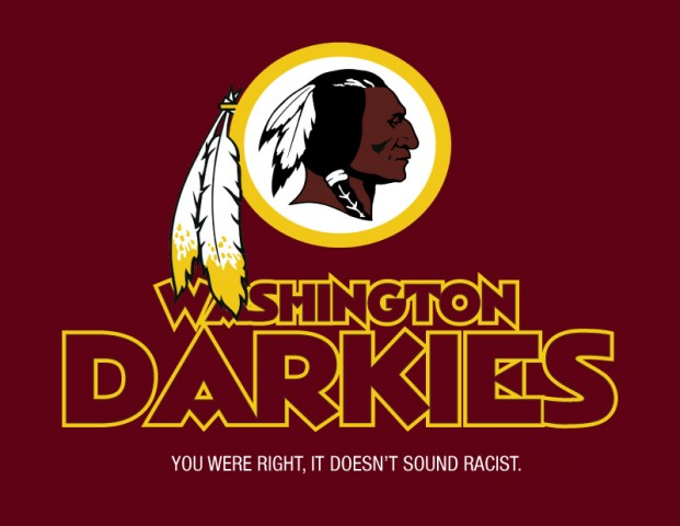 Washington Redskin Darkies